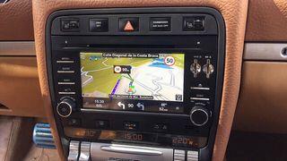 Radio gps Android Porsche Cayenne