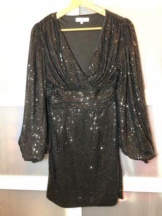 Vestido negro glamorous
