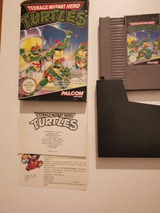 Teenage Turtles tortugas ninja nintendo nes