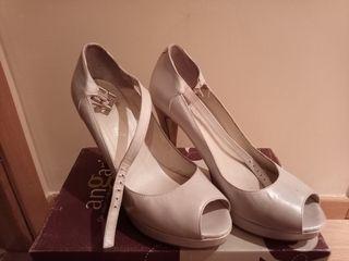 Zapatos Novia blancos talla 40