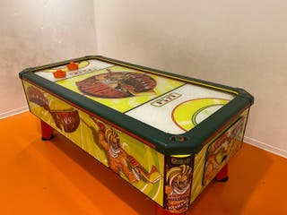 maquina recreativa de aire, air hockey, mesa de ai