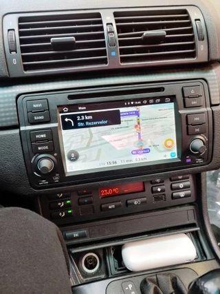 Radio gps Android Bmw E46