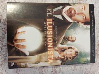 DVD el ilusionista