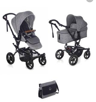 Carrito bebé todoterreno Jané Crosswalk 2020 gris