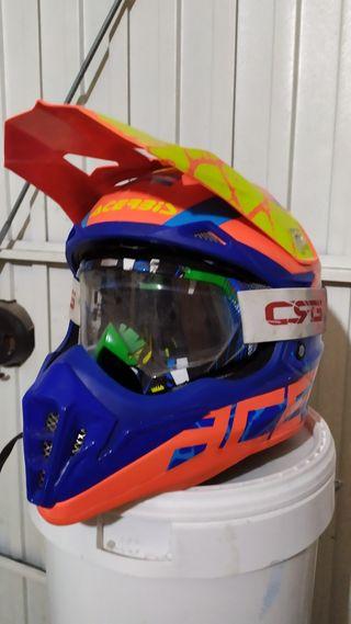 Casco moto o quad