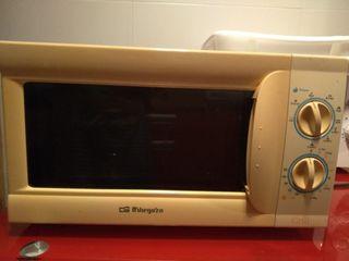 microondas orbegozo 40€ grill