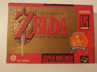 Zelda a link to the past super nintendo
