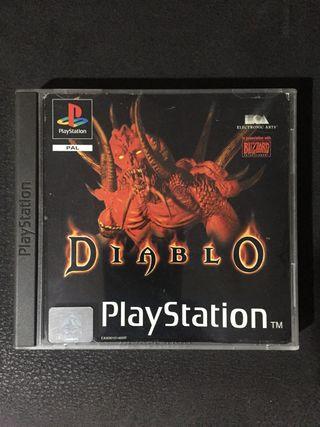 DIABLO - juego play 1 psx