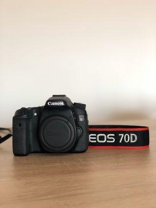 Canon 70d + objetivo 18-135