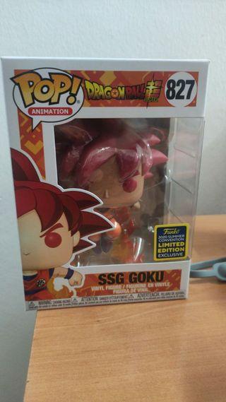 Funko pop SSG GOKU #827