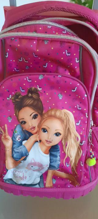 mochila escolar top model