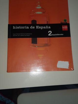 libro historia 2 bachillerato sm