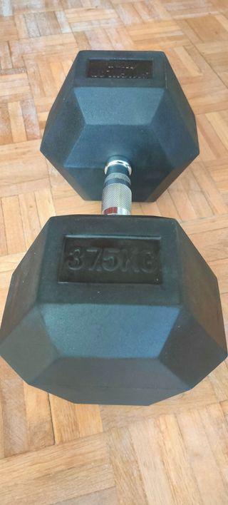 dumbbell / mancuerna de 37,5kg