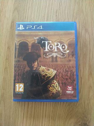 Toro para PS4 PAL España completo SUPER OFERTA