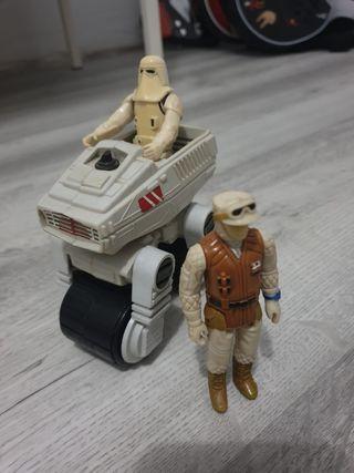 STAR WARS VINTAGE LOTE, snowtrooper, Rebel soldier
