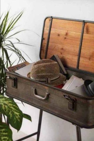 Recibidor/consola maleta
