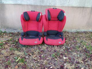 Pack 2 sillas de coche con Isofix