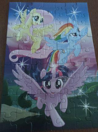 Puzzle My little pony 63 piezas