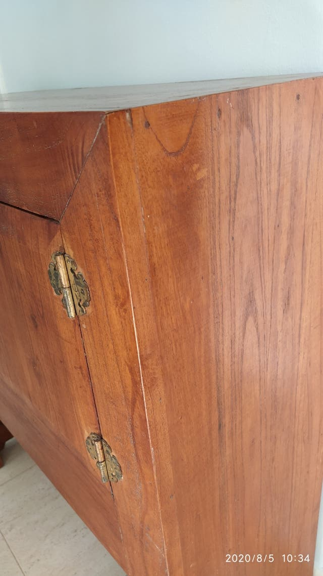 Mueble macizo estilo oriental