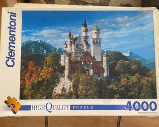 Puzzle Clementoni 4000 piezas