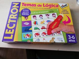 LECTRON DE DISET TEMAS DE LOGICA