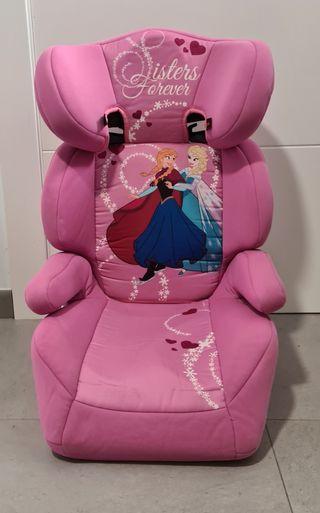 silla coche grupo 3 Frozen