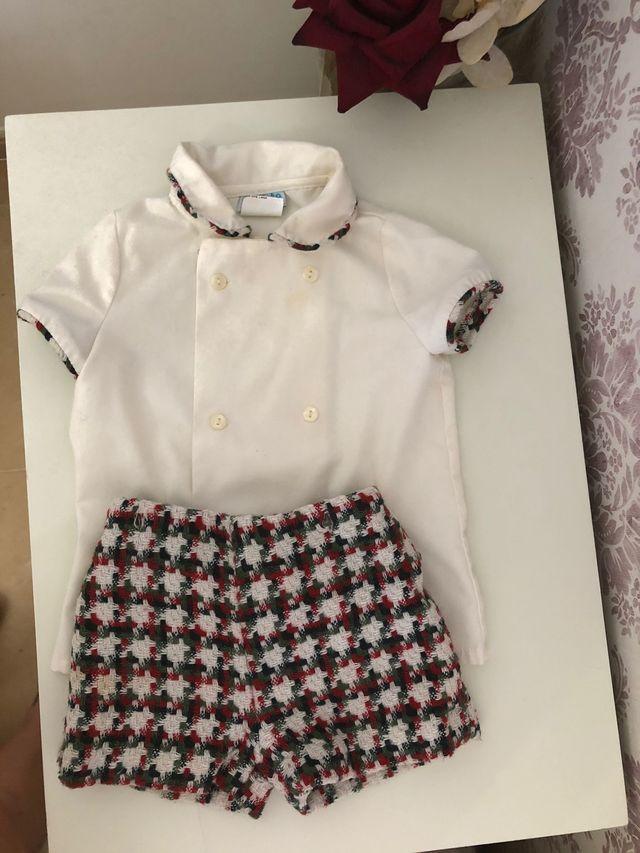 Conjunto niño vestir talla 18 meses