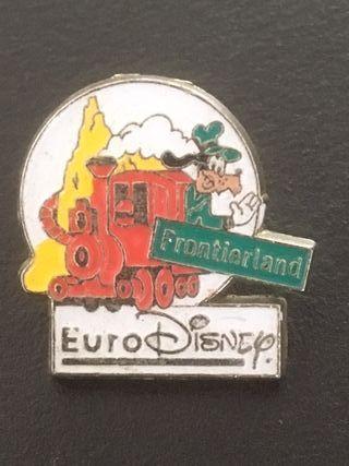 Pin Frontierland Eurodisney (París, Francia).