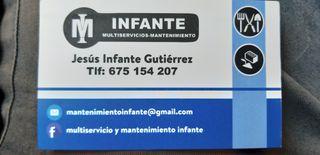 multiservicos y mantenimiento infante