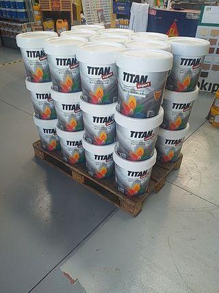Pintura plastica Titan Sport