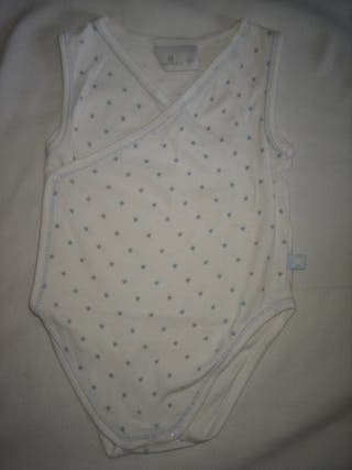 BODY 12 MESES BLANCO Y AZUL