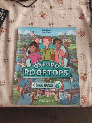 Libro de inglés Rooftops 6° de primaria. Oxford