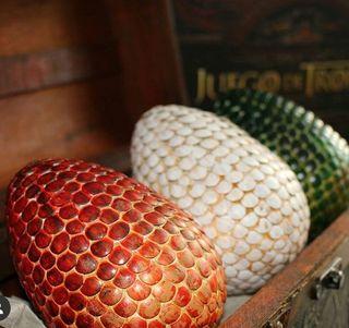Huevos Dragón juego de tronos