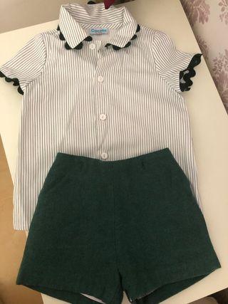 Conjunto niño vestir ( marca Cocote) talla 2