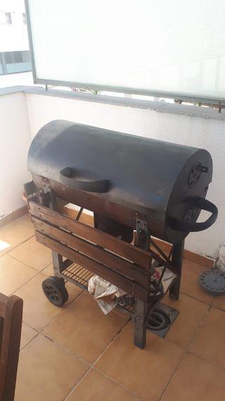 Barbacoa de carbón