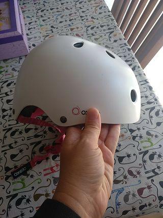 casco oxelo blanco