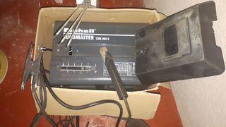 Equipo soldadura electrica, más caja electrodos