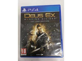 Juego Ps4 Deus Ex