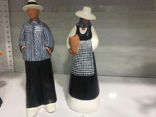 Figuras artesanales arcilla ibicenca