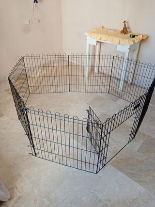 valla para mascotas