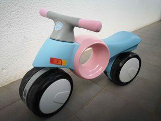 Moto bebé Neomoto Imaginarium Rosa y azul