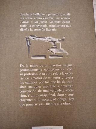 Cartas a un joven novelista, Mario Vargas Llosa
