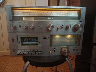 amplificador radio y pletina Sony