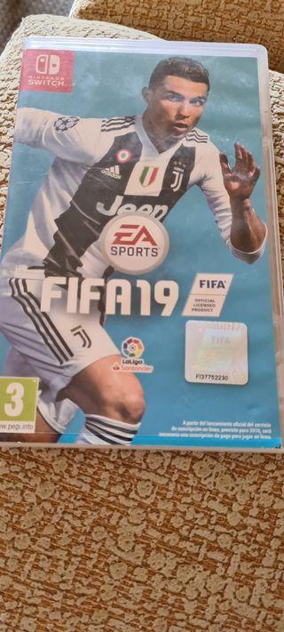 juego Nintendo Fifa 19