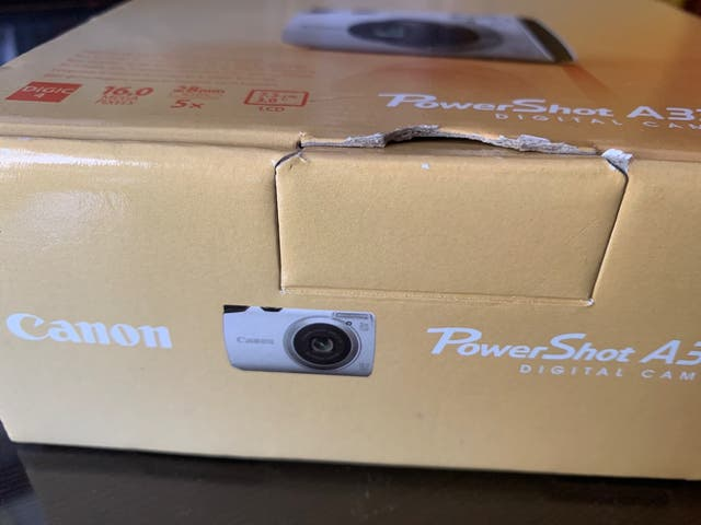 Canon power shot A3300IS