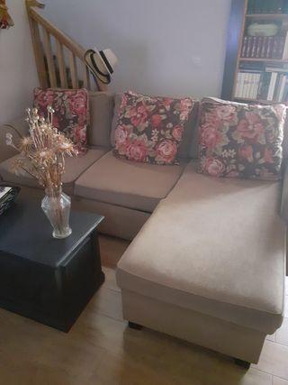sofá cama (doble) con arcón