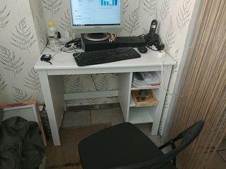 escritorio pequeño blanco ideal habitación,