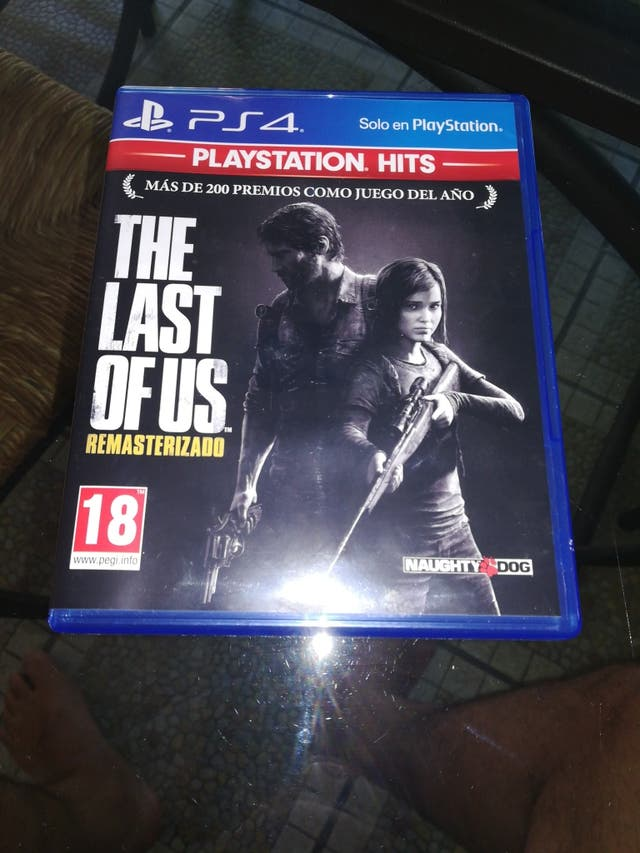 the last of us. PS 4 . Play station 4