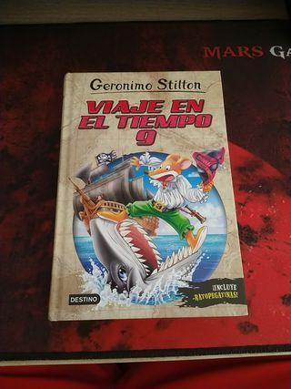 Gerónimo Stilton, viaje en el tiempo 9