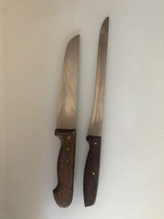 Cuchillos carnicería/pescadería y pan
